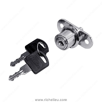 Richelieu BP140400140 Pushbutton Lock