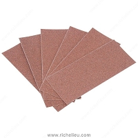 Richelieu 5013414180 Sanding Sheets Premier Red/No-Fil Adalox A275