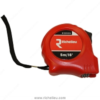 Richelieu 91291634 Standard Tape Measure 16' x 3/4