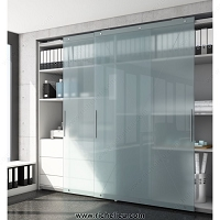 Richelieu WEBKIT1010818 Versatile System with Heavy Duty Mechanism for Large Cabinets, HAWA-Antea 50-80/FS