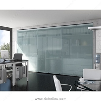 Richelieu WEBKIT1010813 Versatile System with Heavy Duty Mechanism for Large Cabinets, HAWA-Antea 50-80/FS