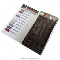 Richelieu ED001 Sample Booklet Recycled Leather Veneer