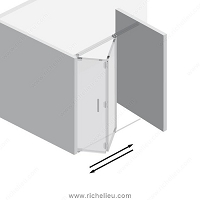 Richelieu WEBKIT1010798 2 Panel Kit