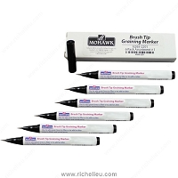 Richelieu M2652202 Brush Tip Graining Markers