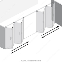 Richelieu WEBKIT1213148 Panel Kit 2 x 4