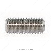 Richelieu GMSOAS382 Standoff Cap Alloy Set Screws - Cup Point