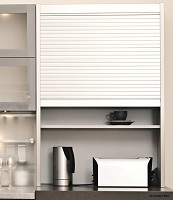Richelieu KITAMB18SS25MM Tambour Door Kit with Exact Widths - 25 mm, Stainless Steel