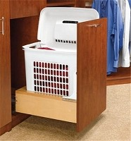 Richelieu 4WHRM15DM1 Bottom-Mounting Pull-Out Hamper