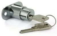 Richelieu 369470140 Push-Button Lock 22 mm