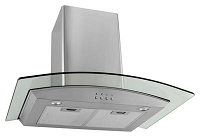 Richelieu 56536170 Glass and Stainless Wall Hood