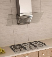 Richelieu 57030170 Stainless and Glass Wall Hood