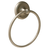 Richelieu 44634 Oxford Towel Ring - Satin Nickel