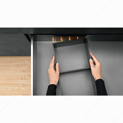 Richelieu Modular Ambia-Line Kits - Height C with Frame - Inner Drawer with front tube WEBKIT1213028