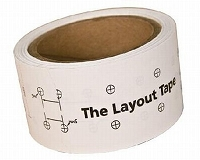 Richelieu 918829 Layout Tape for 32 mm Drilling System
