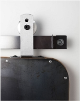 Rustica Top Mount Ultra Modern Barn Door Hardware