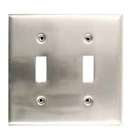 Rusticware 785ORB Double Switch Plate, Oil Rubbed Bronze