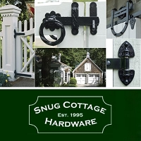 Snug Cottage 5600-3061 Small Single Strap Hangers (bolts & nuts for doors up to 2