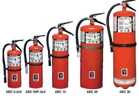 Strike First ABC 5-ALV-V Dry Chemical Fire Extinguisher 5 lbs, Wall Bracket