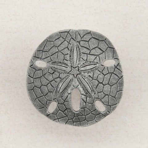 "Acorn DPDPP Artisan Collection Knob Sanddollar 1-1/2"" x 1-1/2"""