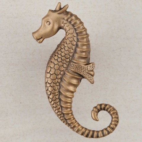 "Acorn DPEGP Artisan Collection Knob Seahorse 2-1/4"" 1-1/8"""