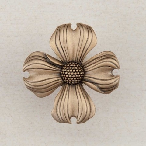 "Acorn DQ6GP Artisan Collection Knob Dogwood 1-1/2"" x 1-1/2"""