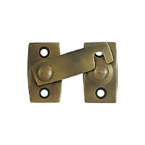 "Deltana SB3178U5 Shutter Bar/Door Latch 7/8"", Antique Brass (Each)"