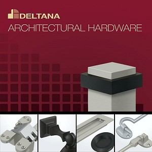 Deltana RCS338U15 Roller Catch Surface Mounted, Satin Nickel