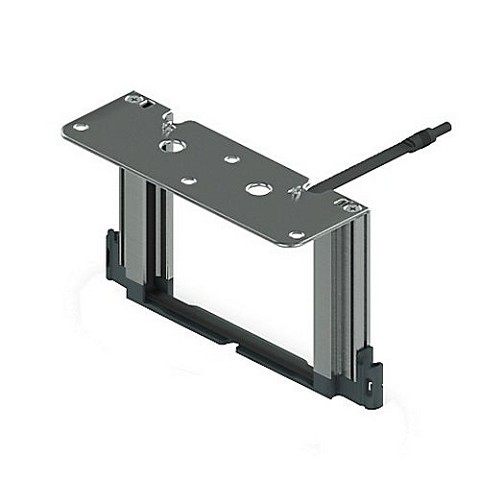 Hafele 553.00.350 Frame Set for Top Fixing for Sensomatic Electro Mechanical Openint System, Each