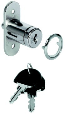 Hafele 234.66.600 Push-Button Cylinder for Central Locking Push-Button Cylinder And for Sliding Doors