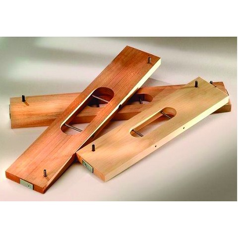 "Hafele 002.13.812 Soss 204It Wood Router Guide 12"" x 3"" x 5/8"""