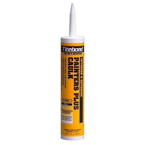 Hafele 003.55.081 Titebond Painters Plus Caulk, Almond