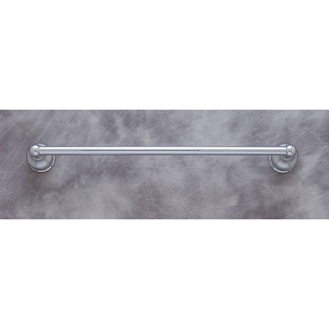 "JVJ 23718 Liberty Series Matte 18"" Towel Bar Set, Chrome/Polished Chrome"