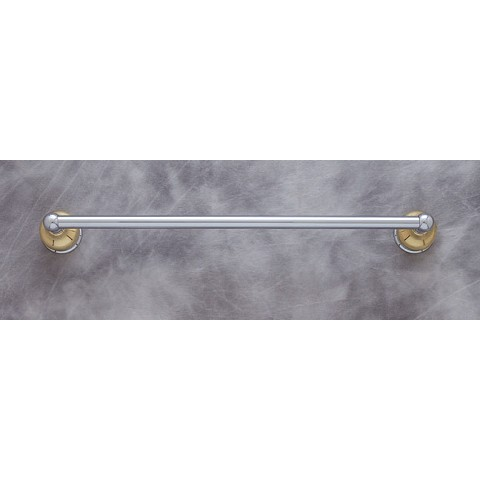 "JVJ 24318 Liberty Series Towel Bar Set 18"", Chrome/Brass"