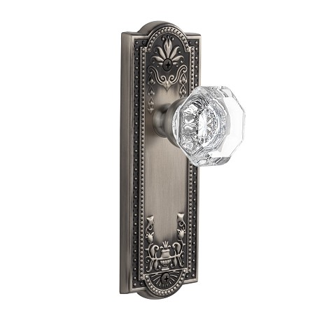 Grandeur 822024 Parthenon Plate Dummy with Chambord Knob in Antique Pewter