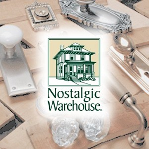 Nostalgic Warehouse 823315 Newport Rosette with Eden Prairie Knob & Matching Deadbolt, Keyed Alike